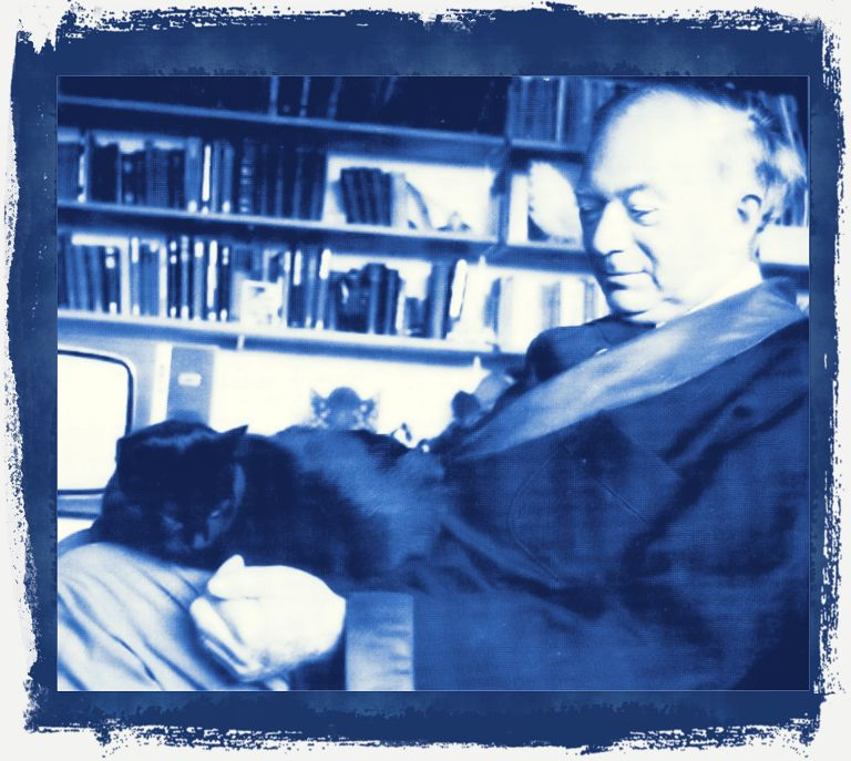 In memory of George Mikes and his cat, Tsi-Tsa.