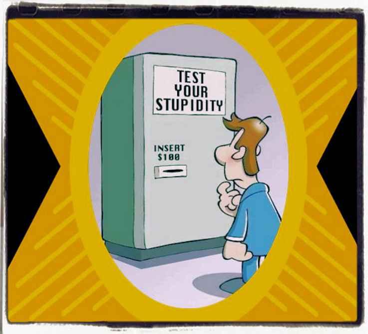 Test your stupidity level