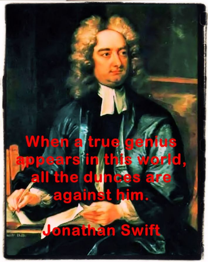 Jonathan Swift famous quotes and aphorisms