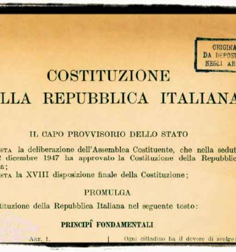 The Italian Constitution and the Dead Neapolitan Man