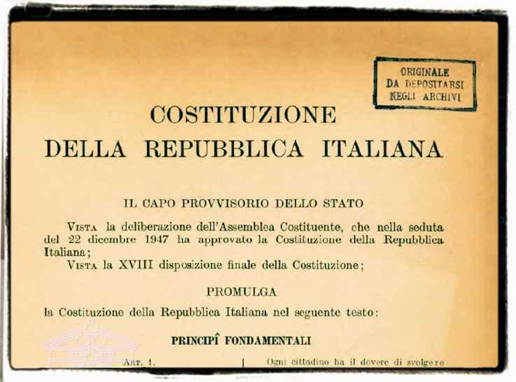 The Italian Constitution