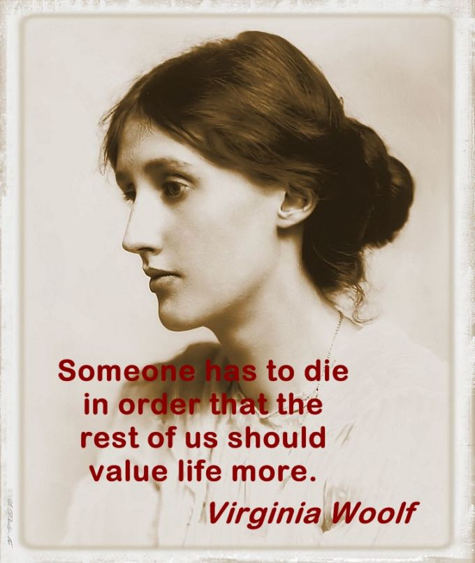 Virginia Woolf quotes, aphorisms and ideas.