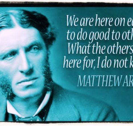 Matthew Arnold On Poetry