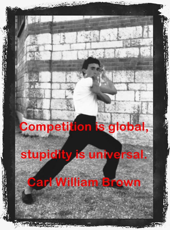 Carl William Brown wisdom words and thoughts