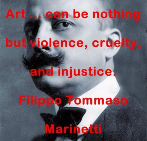 Filippo Tommaso Marinetti Quotes