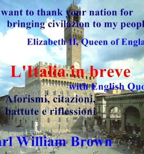 Italian E Book With English Quotes About Italy And The