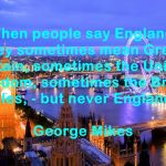 Quotes and aphorisms about England