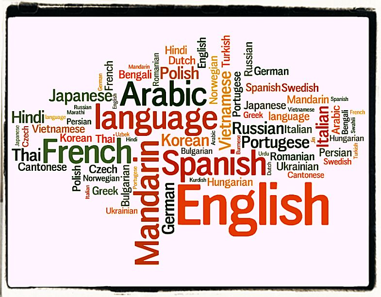 The Blend of English with other languages