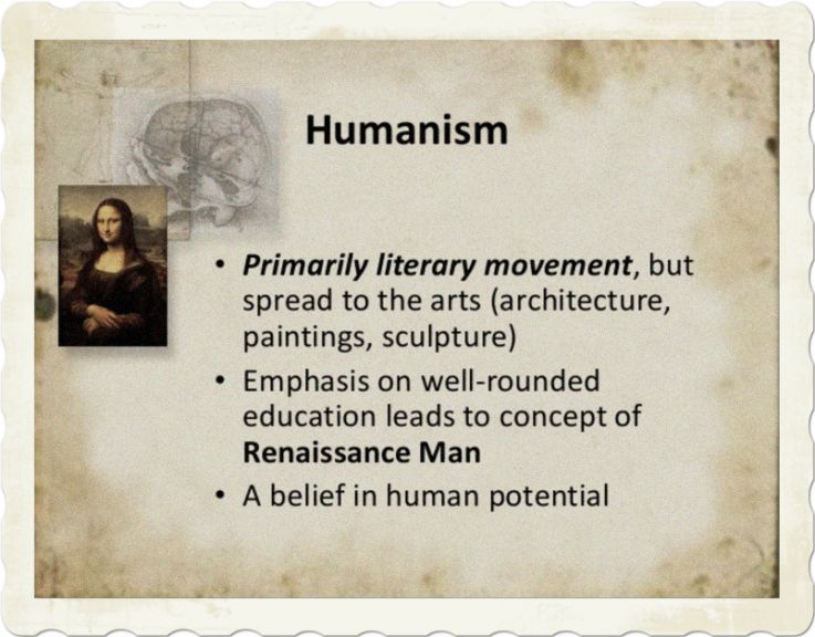 Literature and humanism