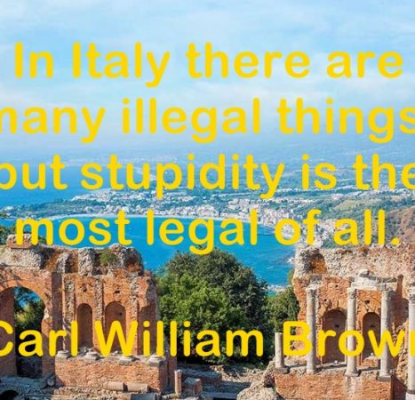 Quotations on Italy