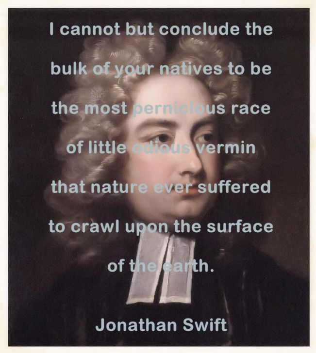 Jonathan Swift reflections