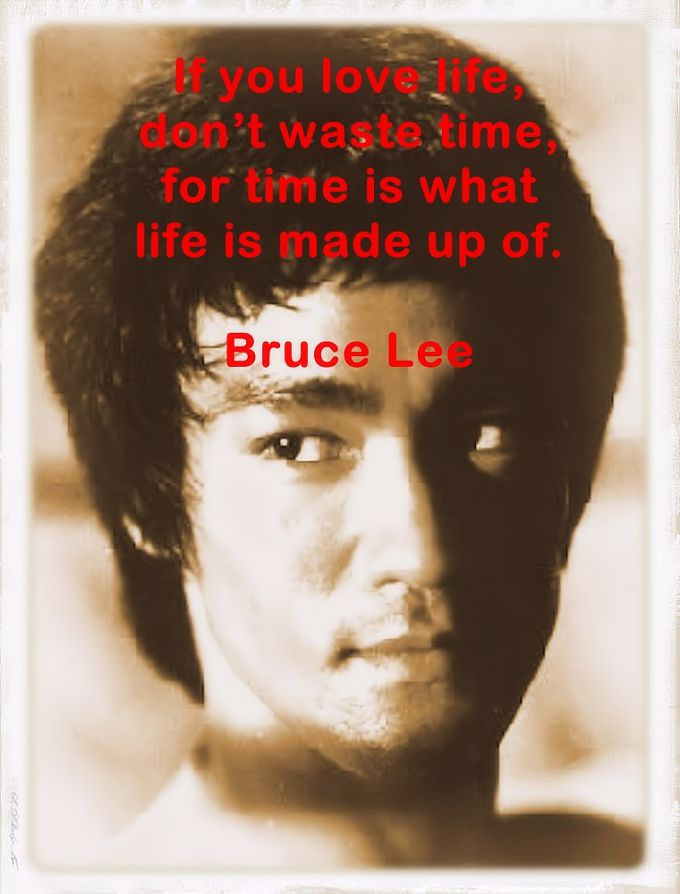 Bruce Lee reflections, thoughts and wise words