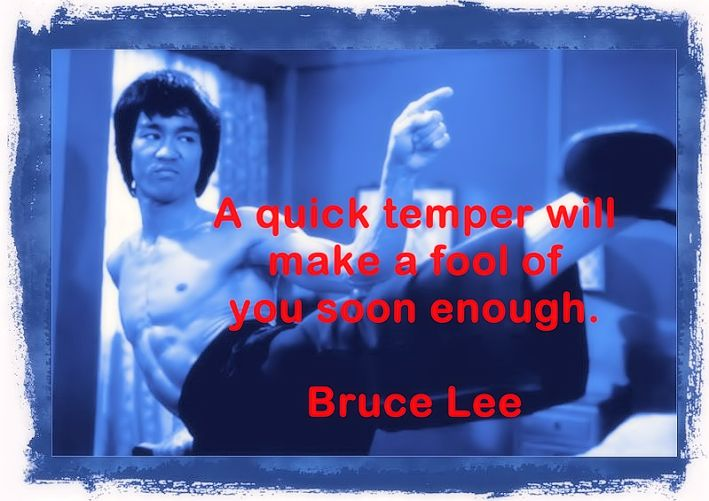 Bruce Lee famous quotes and aphorisms