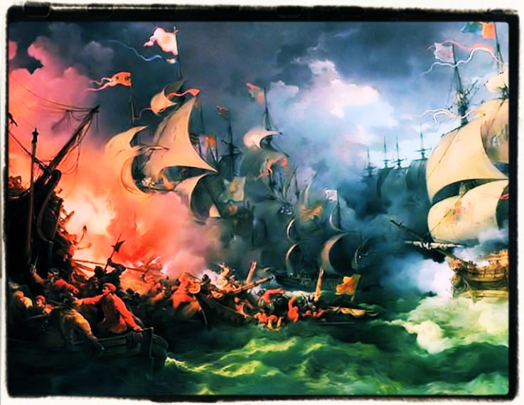 The defeat of the Spanish invincible armada by English Culture