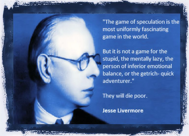 The trading game of speculation by Jesse Livermore