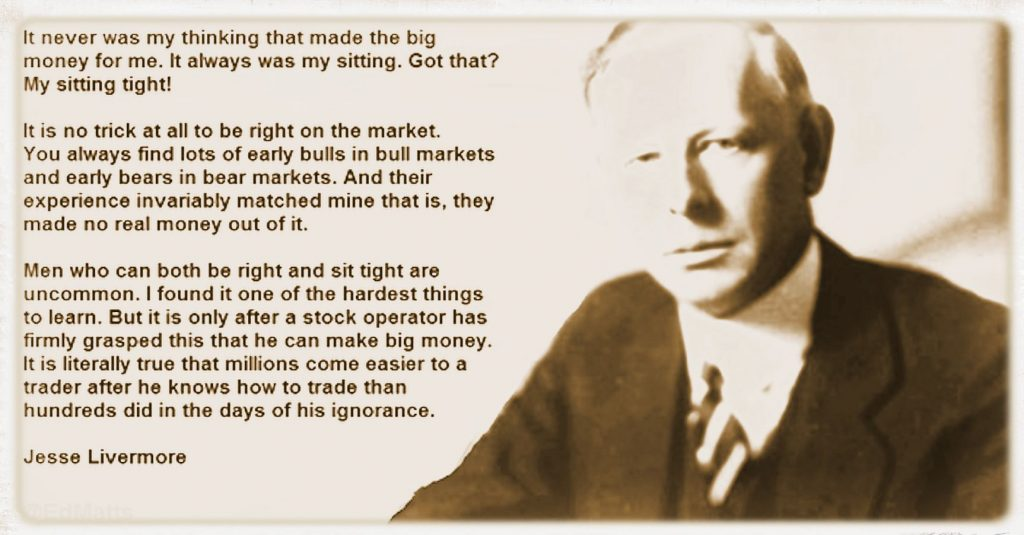 Jesse Livermore best trading strategy
