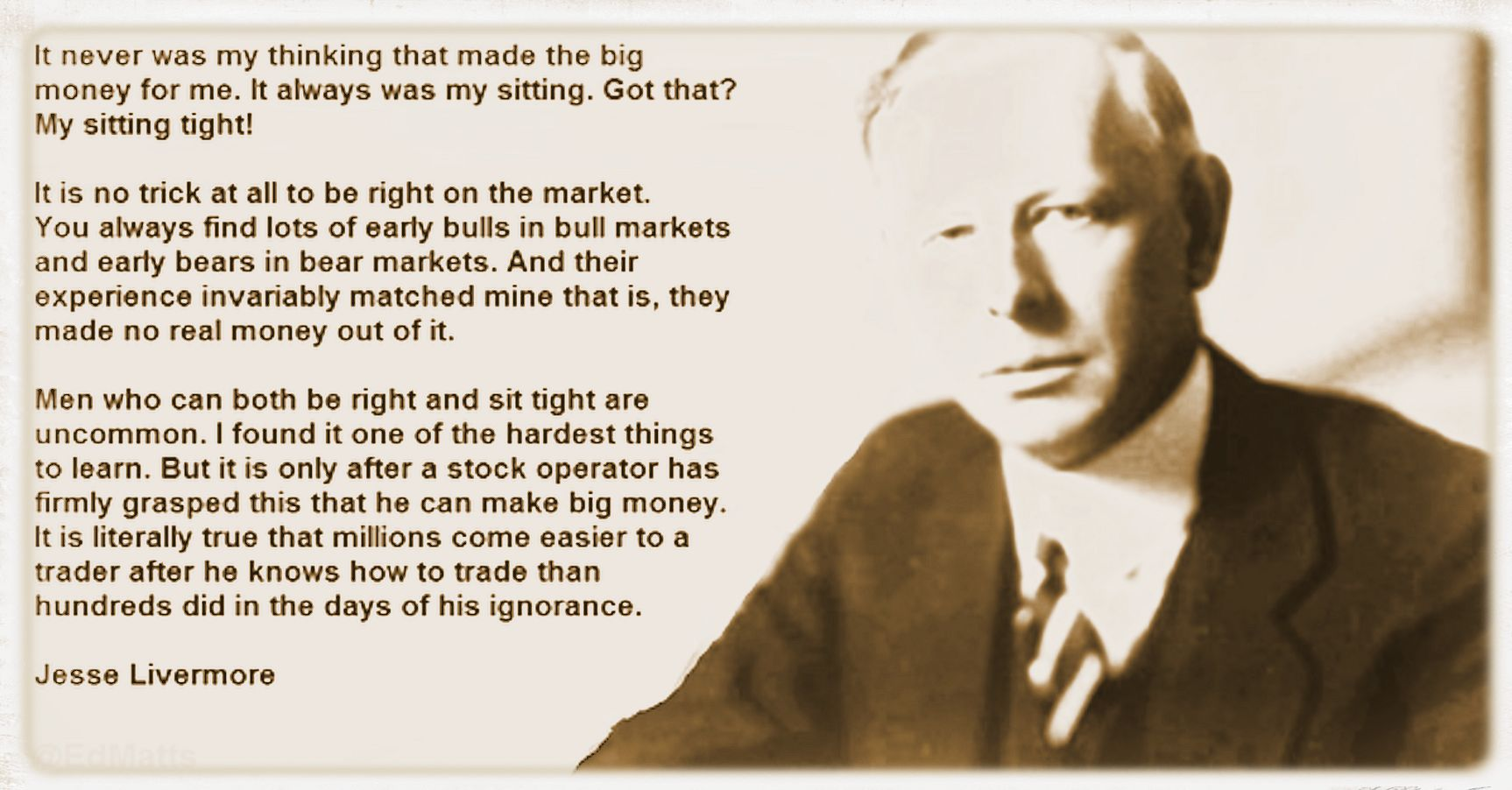 The Wisdom of Jesse Livermore