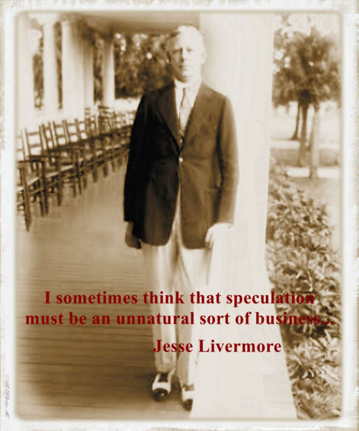 True words and thoughts on speculation and trading by Jesse Livermore