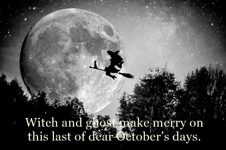 Halloween aphorisms and quotes