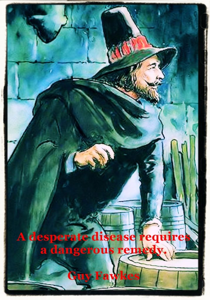 Guy Fawkes story and quote