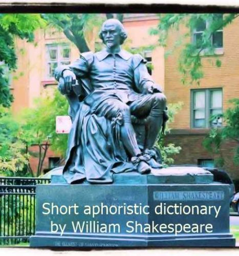 Shakespeare dictionary