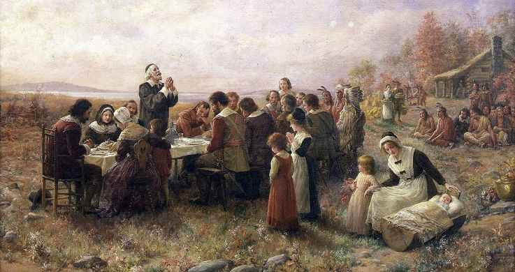 Thanksgiving Day Celebration by English-culture.com