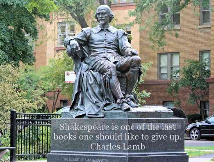 Thoughts and reflections on William Shakespeare