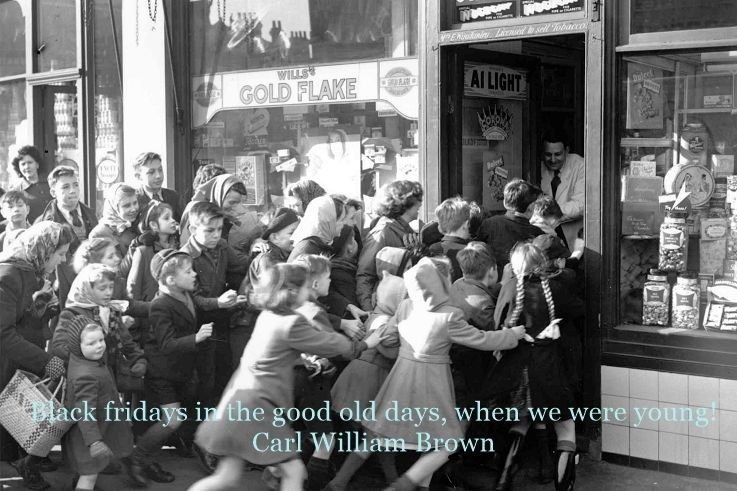Black Friday in the good old days