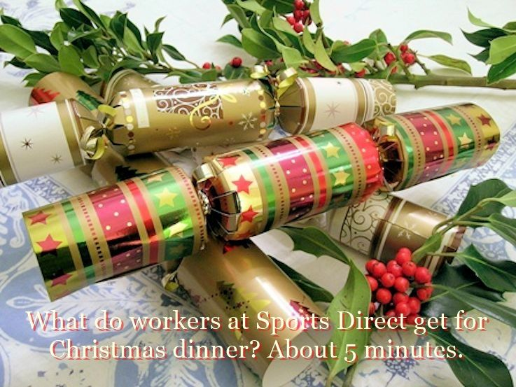 Christmas Dinner In A Tin.Funny Christmas Crackers Amusing Jokes The World Of English