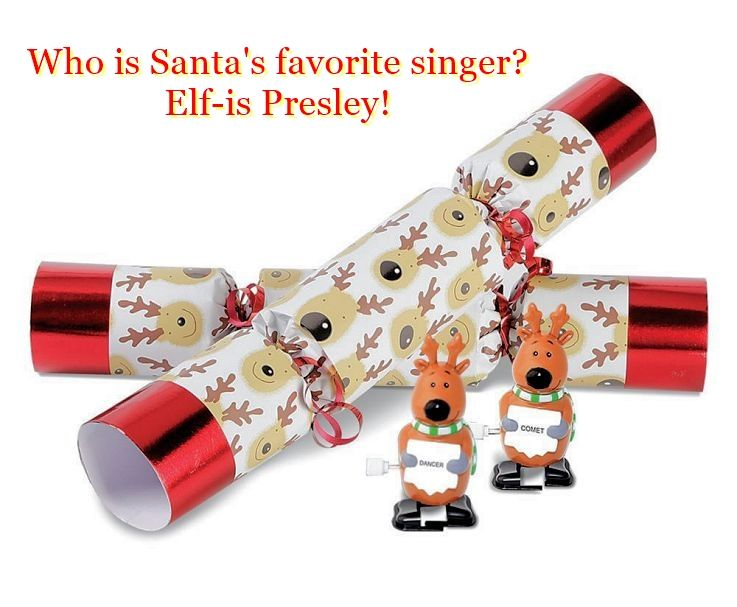 nice christmas crackers jokes