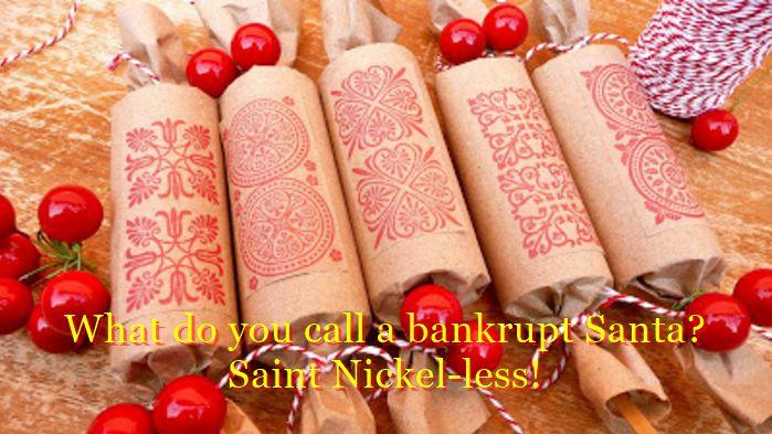Christmas crackers famous jokes