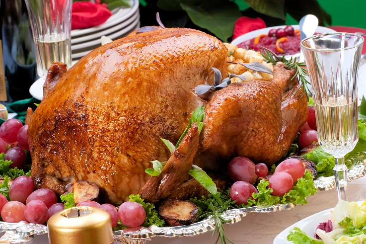 Christmas special roasted turkey