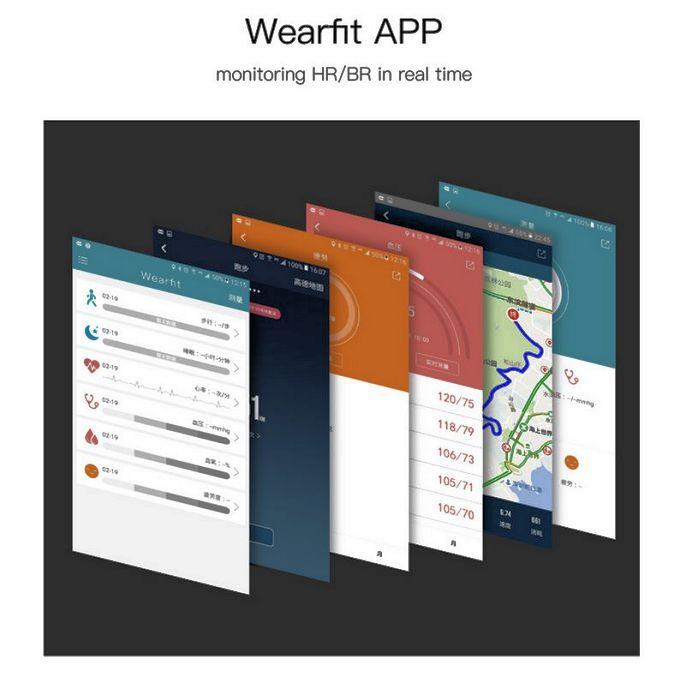 Wearfit app for fitness tracker