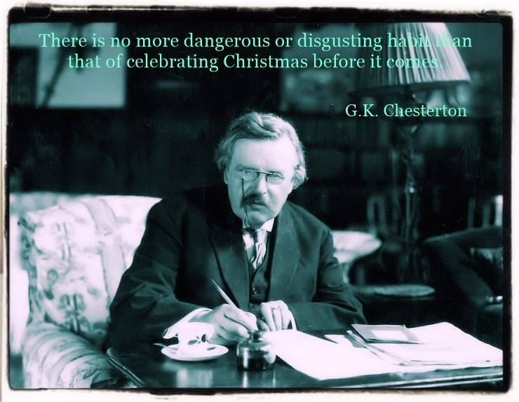 An Essay on Christmas by G.K. Chesterton