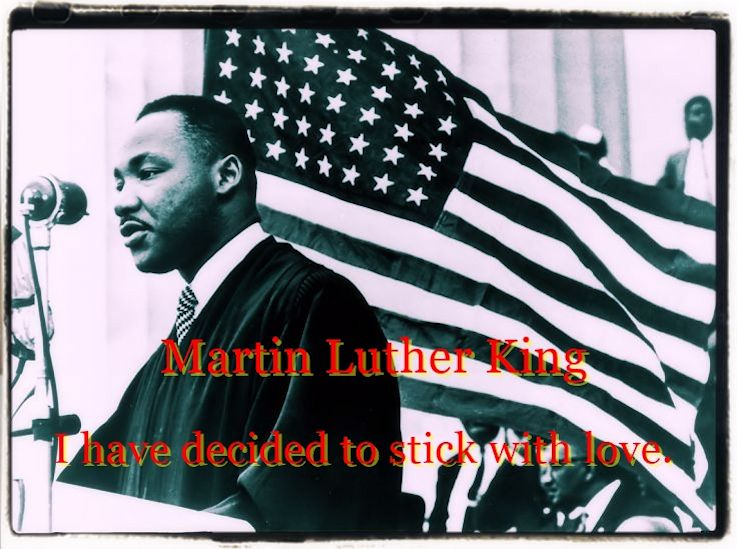 Martin Luther King Jr. love ethics