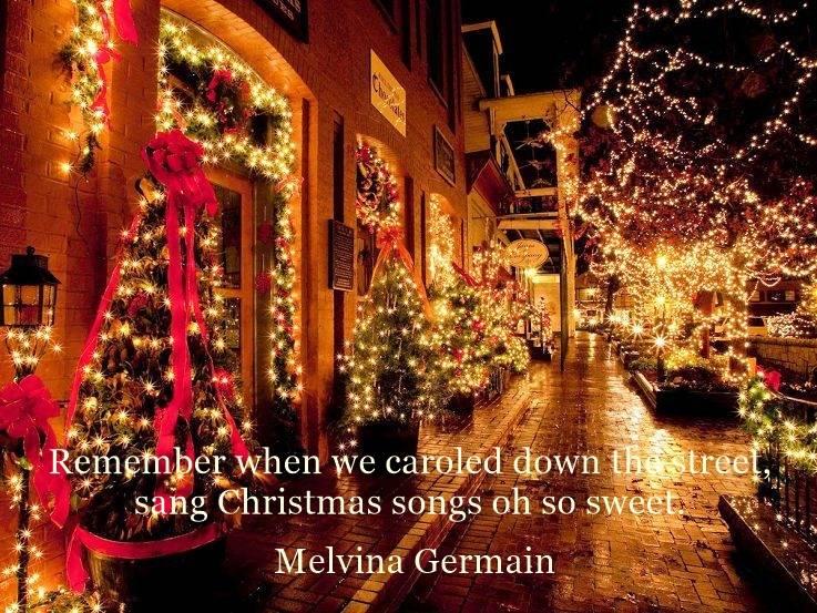 London Christmas lights decorations