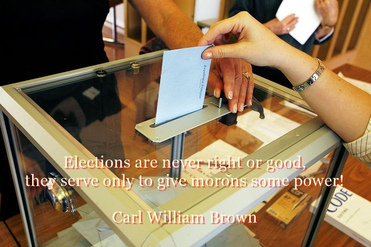 Best aphorisms on Elections