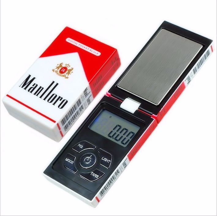 Cigarette case design weighing scale
