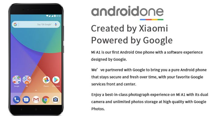 """Global Version Xiaomi Mi A1 4GB 64GB Mobile Phone 5.5"""" Dual Camera Android System"""