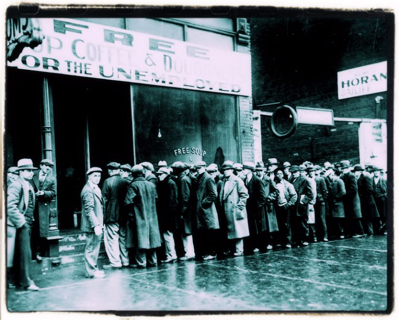 Unemployment crisis in 1929