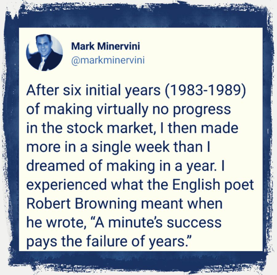 Mark Minervini Trading Legend