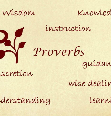 Wisdom of proverbs