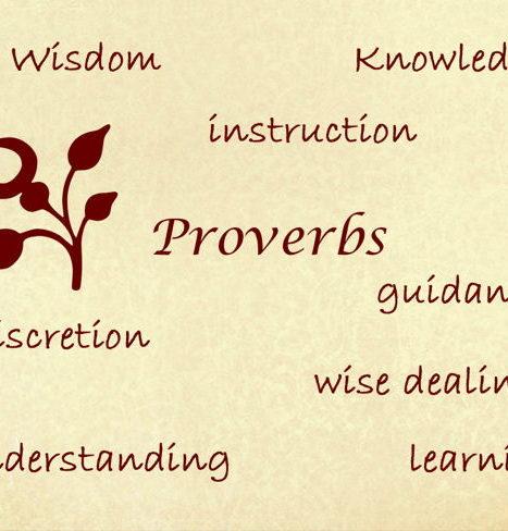 Wisdom of proverbs