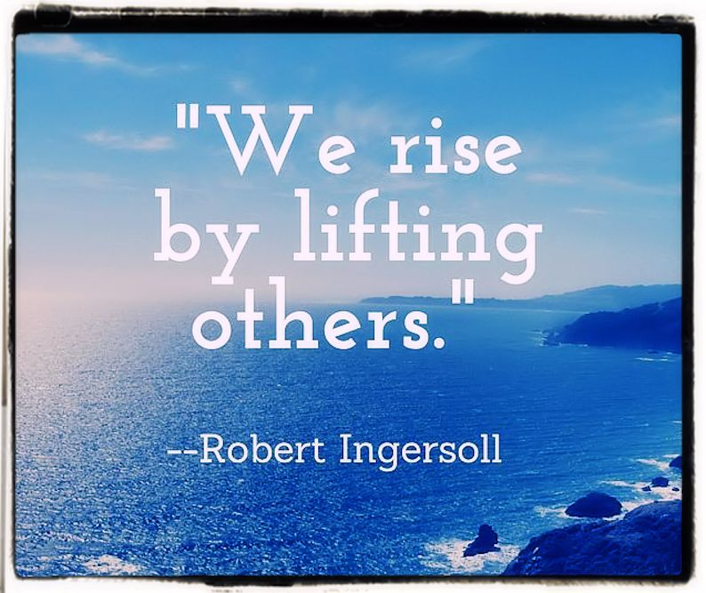We rise by following our Daimon
