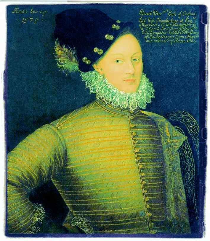 Edward De Vere, the seventeenth earl of Oxford
