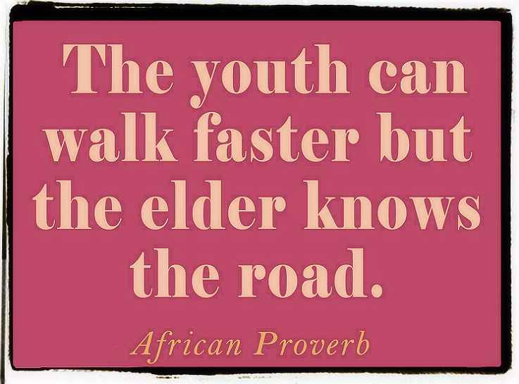 A very famous proverb on youth