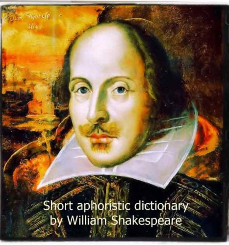 Shakespeare quotes dictionary