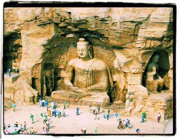 A Chinese Buddha Statue