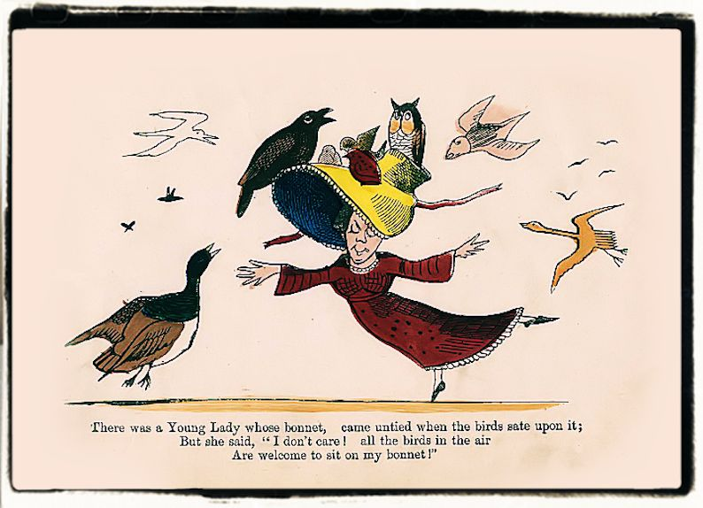 Edward Lear Book of nonsense