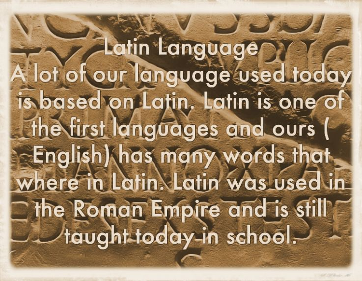Importance of Latin Language